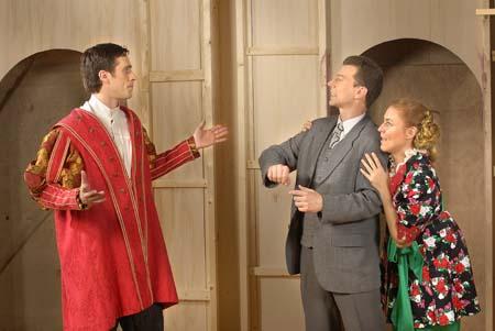 Fred mit Lilli und ihrem Verlobten Harrison