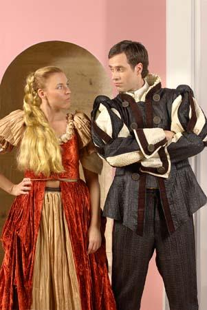 Katharina und Petruchio -Streit